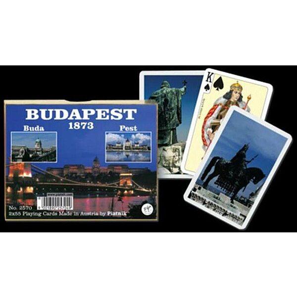 Luxus römi kártya - Budapest 1873 - 1. kép