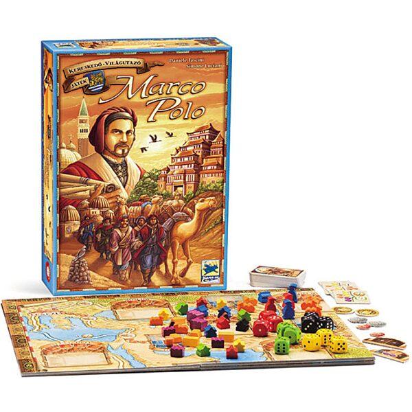 Marco Polo társasjáték - 1. kép