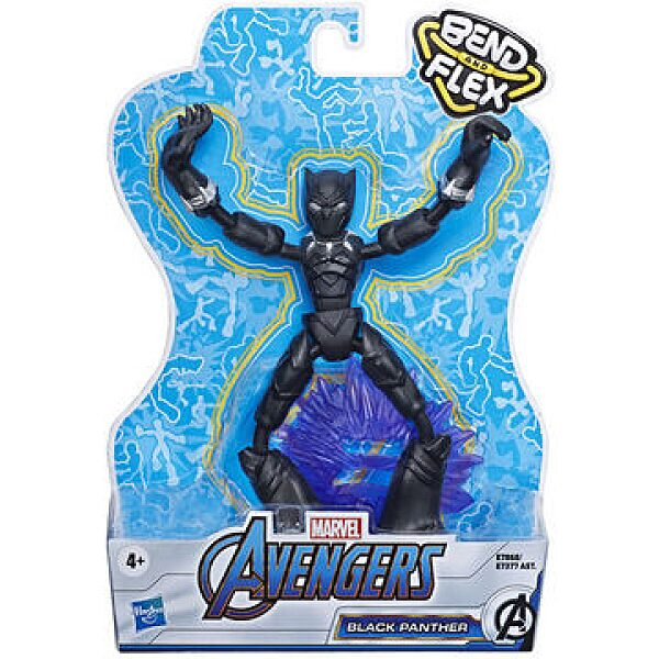 Marvel: Avengers - Bend and Flex Fekete Párduc figura - 1. kép