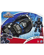 Marvel Super Hero Adventures: Fekete párduc versenyautójával - 1. kép