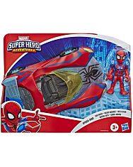 Marvel Super Hero Adventures: Pókember versenyautójával - 1. kép