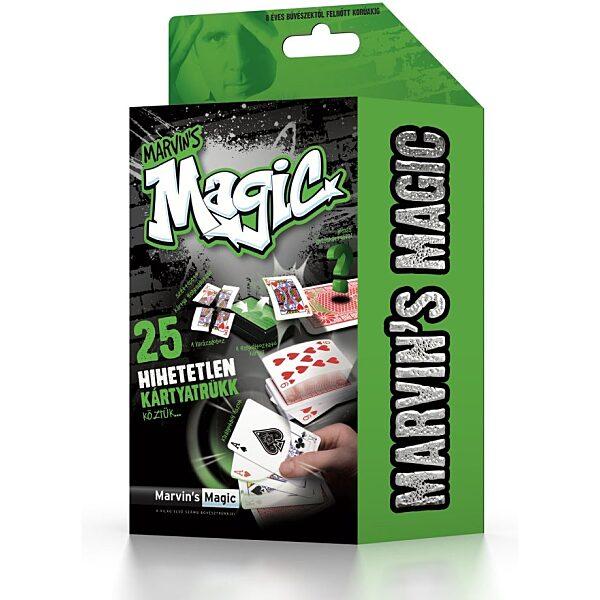 Marvin's Magic Szemfényvesztő mágikus készlet - hihetetlen kártya trükkök - 1. kép
