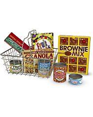 Bevásárlókosár élelmiszerekkel - 3. kép