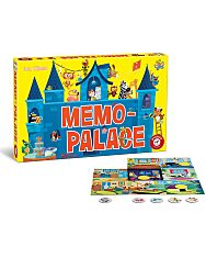 Memo-Palace társasjáték - 1. kép