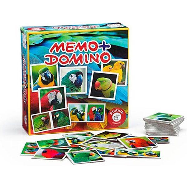 Memo/Domino Papagájok társasjáték - 1. kép