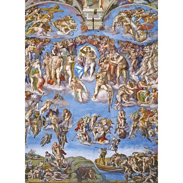 Michelangelo: Végítélet 1000 db-os puzzle - Clementoni - 1. kép