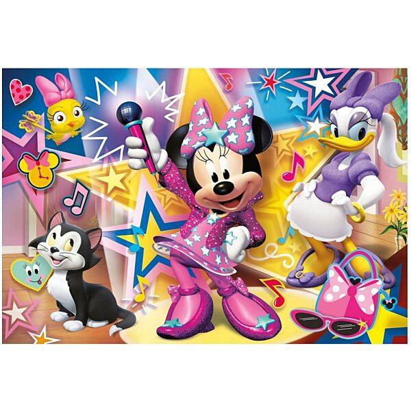 Minnie segítői 60 db-os maxi puzzle - Clementoni - 1. kép