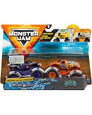 Monster Jam 2 darabos színváltós kisautók - Mohawk Warrior és Jester - 1. kép