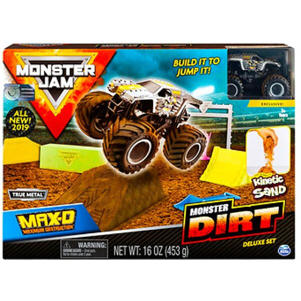 Monster Jam: Dirt Deluxe szett autóval - 1. kép