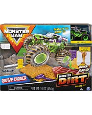 Monster Jam: Grave Digger szett autóval 1