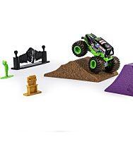 Monster Jam: Grave Digger szett autóval 3