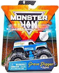 Monster Jam: Grave Digger The Legend - kék-szürke kisautó - 1. kép