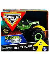 Monster Jam: Soldier Fortune hátrahúzhatós kisautó - 1. kép