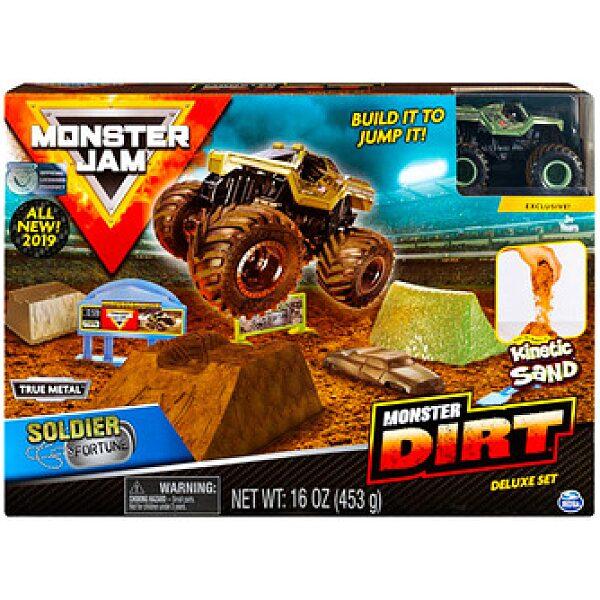 Monster Jam: Soldier Fortune szett autóval - 1. kép