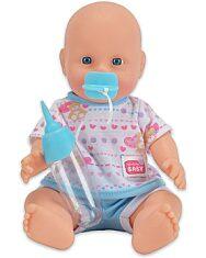 New Born Baby: pisilős baba kék ruhában - 1. kép
