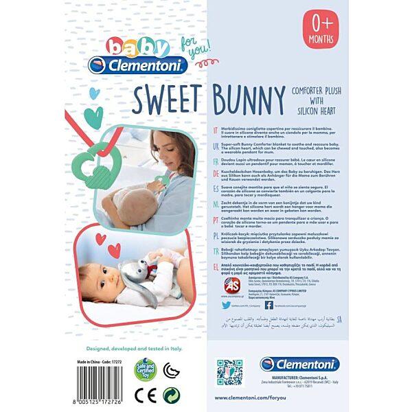 Nyuszis alvóplüss - Clementoni Baby - 3. kép