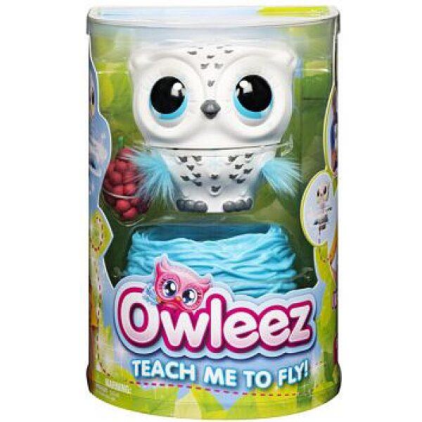 Owleez: interaktív bagoly - fehér - 1. kép