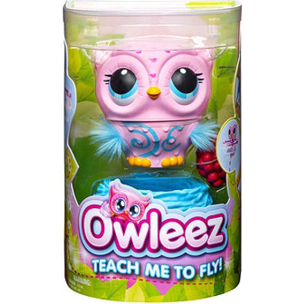 Owleez: interaktív bagoly - rózsaszín - 1. kép