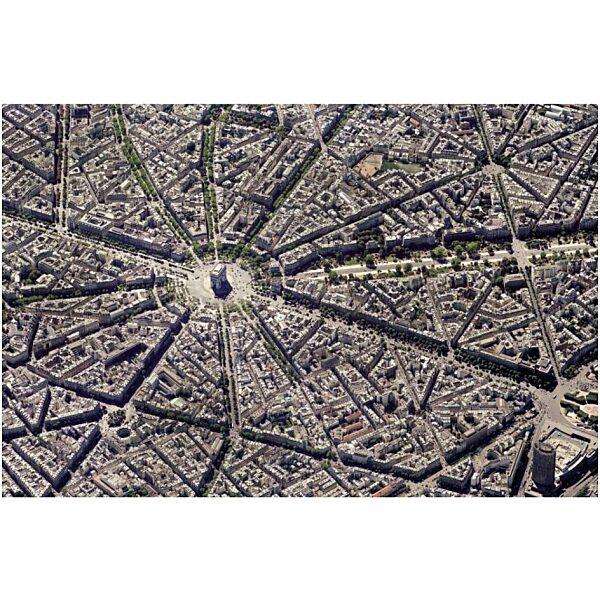 Párizs légifelvétel 1000 db-os puzzle - Piatnik - 1. kép