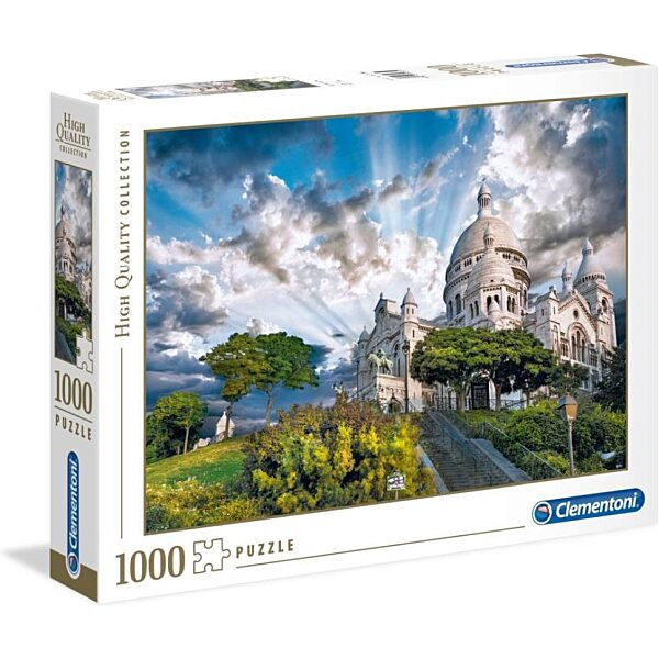 Párizs: Montmartre 1000 db-os puzzle - Clementoni - 2. kép