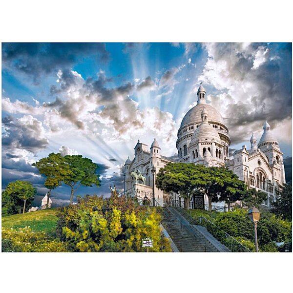 Párizs: Montmartre 1000 db-os puzzle - Clementoni - 1. kép