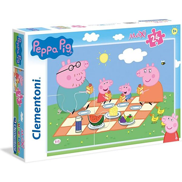 Peppa malac 24 db-os maxi puzzle - Clementoni - 1. kép