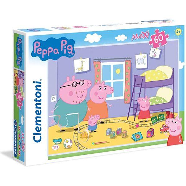Peppa malac 60 db-os maxi puzzle - Clementoni - 2. kép