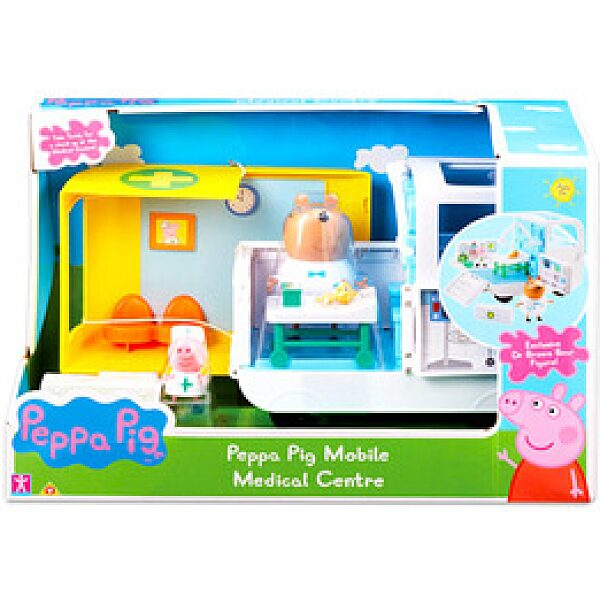 Peppa malac: Peppa mobil kórháza - 1. kép