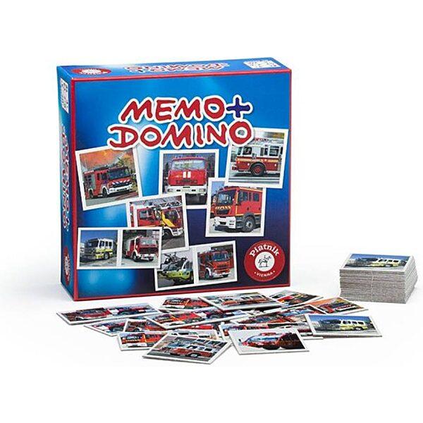 Piatnik Memo/Domino Tűzoltók - 1. kép