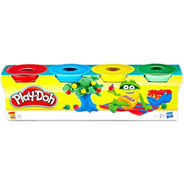 Play-Doh: 4 darabos mini gyurma készlet - vegyes színekben - 1. kép