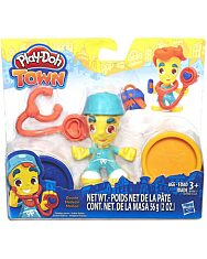 Play-Doh Town: Doktor figura - 1. kép
