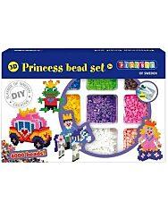 Playbox: Hercegnő 3D gyöngykép figura készítő szett - 4000 darabos - 1. kép