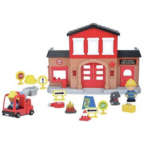 Playgo:Városi tűzoltóállomás fénnyel és hanggal - 1. kép