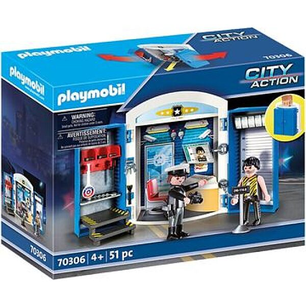 Playmobil City Action: Rendőrállomás 70306 - 1. kép