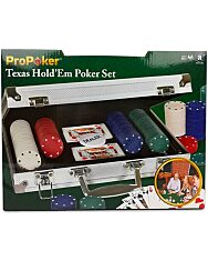 Póker szett 200 db-os - 1. kép