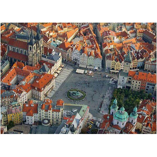 Prága légifelvétel 1000 db-os puzzle - Piatnik - 2. kép