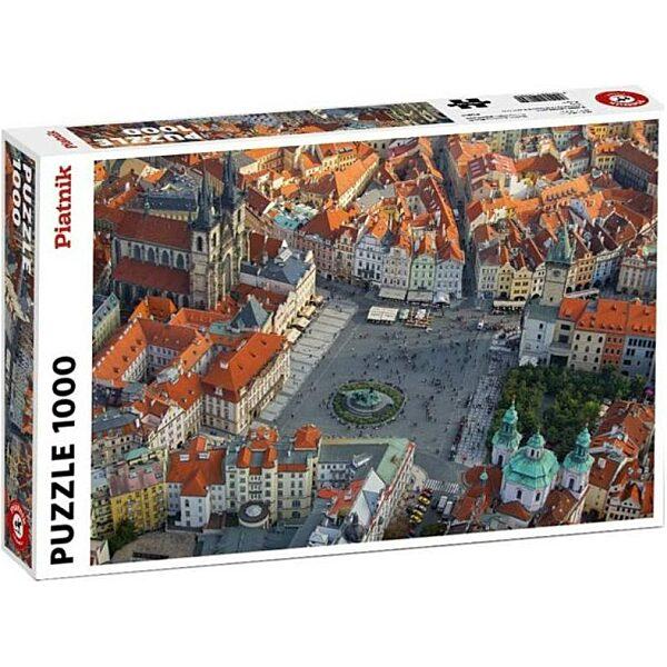 Prága légifelvétel 1000 db-os puzzle - Piatnik - 1. kép