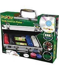ProPoker Texas Hold'em póker szett 200 db-os oktató DVD-vel - 1. kép