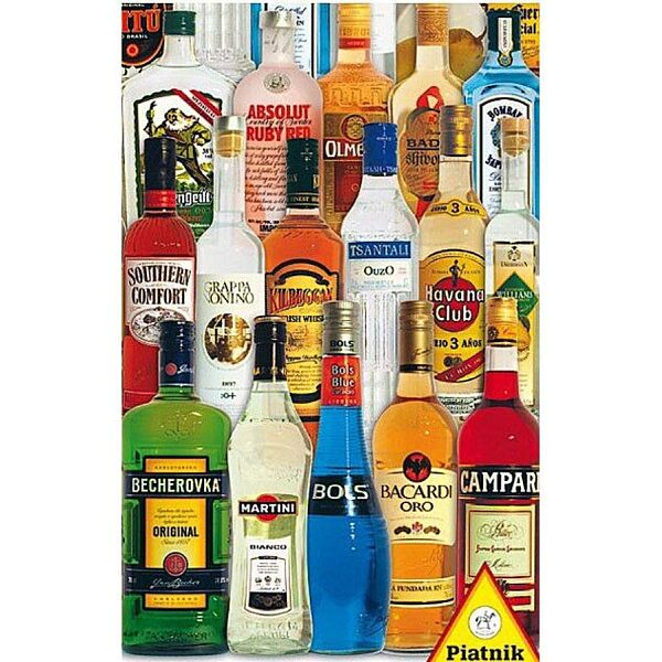 Rövid italok 1000 db-os puzzle - Piatnik - 1. kép