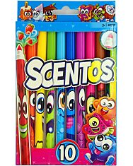 Scentos: Illatos vékony filctoll - élénk színek - 1. Kép