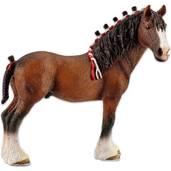 Schleich: clydesdale ló figura - 1. kép