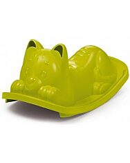 Smoby: cica formájú libikóka - zöld - 1. kép