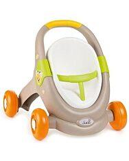 Smoby: Mini Kiss 3 az 1-ben járássegítő - szürke-narancs - 1. kép