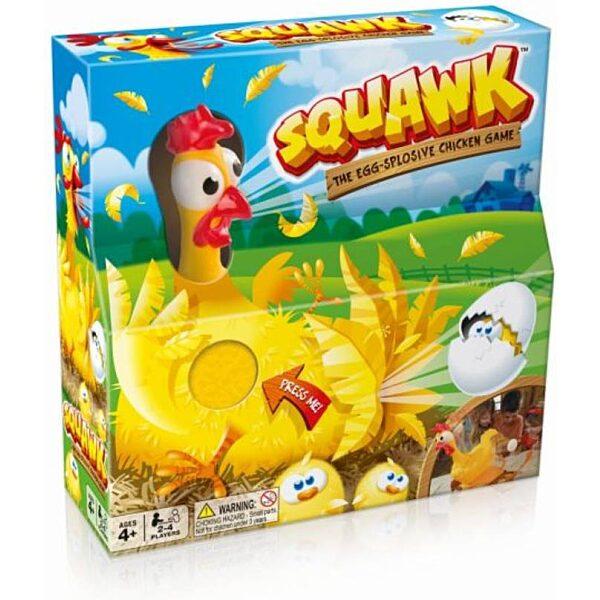 Squawk Kirobbanó tojástojó társasjáték - 1. kép
