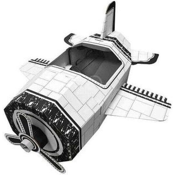 Színezhető karton repülő - 1. kép