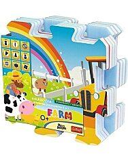 Trefl Habszivacs szőnyeg puzzle - Farm móka - 1. kép