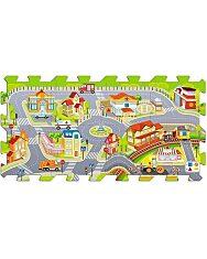 Trefl Habszivacs szőnyeg puzzle - Városi móka - 2. kép