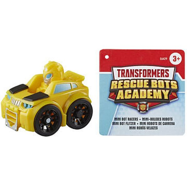 Transformers: Rescue Bots Academy - robottá alakítható Bumblebee kisautó - 1. kép