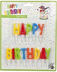"""Trendhaus """"Happy Birthday"""" betűk szülinapi gyertya szett"""