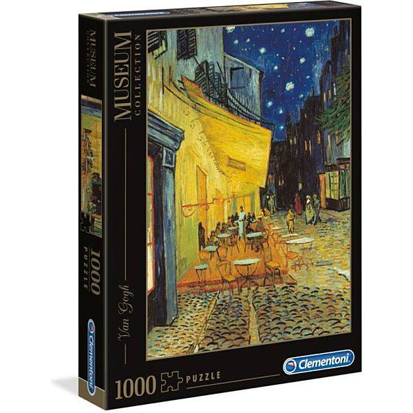 Van Gogh: Éjjeli kávéző 1000 db-os puzzle - Clementoni - 2. kép